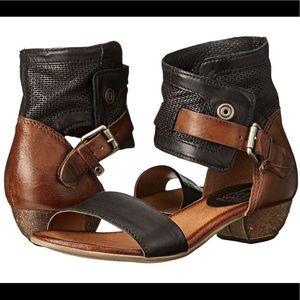 Miz Mooz Cali Ankle Strap Sandals